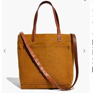 Madewell Canvas Medium Transport Tote